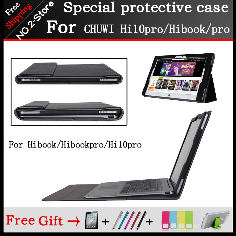 Original High-quality Business Folio stand keyboard case For CHUWI Hi10 Pro / HiBook /Hibook Pro 10.1 inch Tablet PC sunstep 100 50