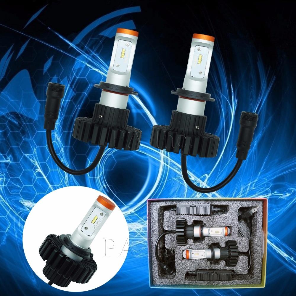 ФОТО Newest Auto Front Bulb Automobiles Headlamp H7 6000K Car Lighting Xenon Bulb Car Headlight PA
