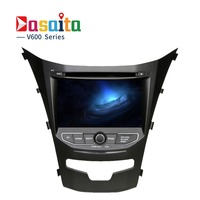 Dasaita 7 Android 6 0 Car DVD Player For Ssangyong New Actyon Korando With Octa Core