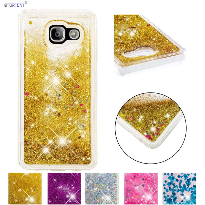 Glitter Liquid Case for <font><b>Samsung</b></font> <font><b>A3</b></font> <font><b>2016</b></font> <font><b>SM</b></font>-A310 Cover for Smausng <font><b>SM</b></font>-A310 <font><b>SM</b></font>-<font><b>A310F</b></font> <font><b>SM</b></font>-<font><b>A310F</b></font>/DS <font><b>SM</b></font>-A310M/DS A310Y <font><b>A310F</b></font>/DS Cases image