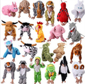 Lovely Kids Unisex  Children Animal Pajamas Anime Cosplay Costume Fox  Bee Fox sheep panda Onesie