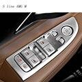 Автомобильный Стайлинг для BMW 7 серии F01 F02 G11 G12 интерьерная дверь стеклоподъемник кнопка переключения рамка Накладка авто аксессуары