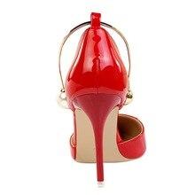Women high heel pumps faux pearl