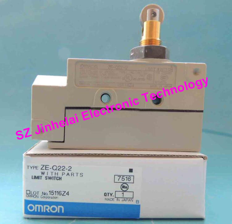 New and original OMRON LIMIT SWITCH  ZE-Q22-2 [zob] 100% brand new original authentic omron omron limit switch d4e 1d10n