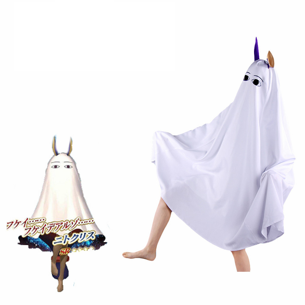 Cosplaydiy Anime Fate Grand Order Servant Caster Nitocris Cosplay Costumes Cloak Adult Halloween Cute Ear Cloaks Capes L320