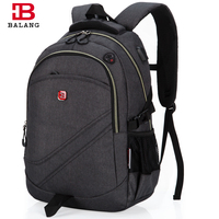 BaLang Laptop Backpack School Men Business Computer Dayback Women Travel Bag 15 6 Inch External Charging
