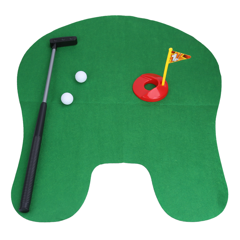 Aliexpress Bathroom Potty Putter Toilet Golf Mini Set Putting Green Novelty For Men And Women From Reliable