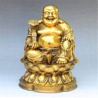 Delivery of pure copper, Maitreya, Buddha, Buddha and copper, smile Buddha handicraft