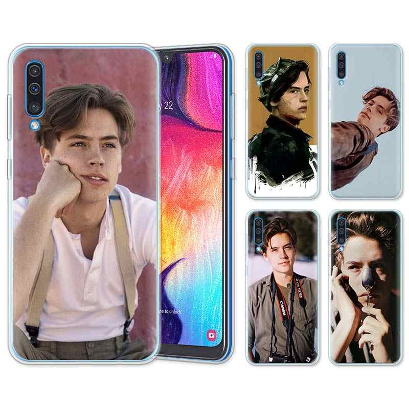 riverdale cole sprouse Jughead Jones Silicone Cases for Samsung Galaxy A10 A30 A40 A50 A70 A6 A7 A8+ A9 M30 M50 TPU Soft