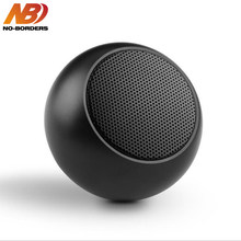 NO-BORDERS BM3D Mini Portable Wireless Bluetooth Speaker Metal Stereo Loudspeaker with Mic Subwoofer MP3 Music Player for Phone(China)