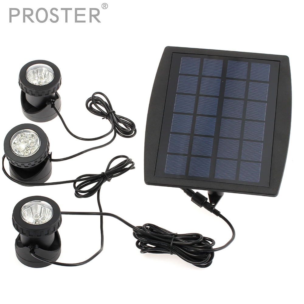 for Solar Powered LED Light IP68 Waterproof 18 LEDs 160LM Luminous Outdoor Garden Lamp Landscape Lighting