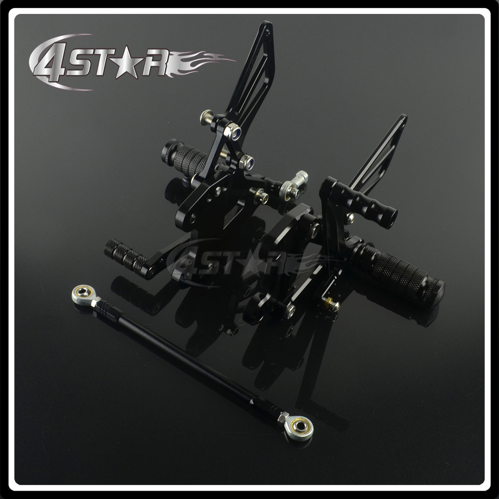Motorcycle CNC Adjustable Foot Pegs Pedals Rests For KAWASAKI ZX6R ZX-6R 1998-2002 98 99 00 01 02 1998 1999 2000 2001 2002 motorcycle handlebars clip on for kawasaki zx6r 600cc zx9r 900cc 1998 2002 page 2