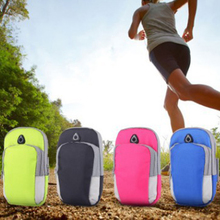 Sports Running Armband Bag Case Cover armband Universal Waterproof Sport mobile phone Holder Outdoor Phone Arm pou