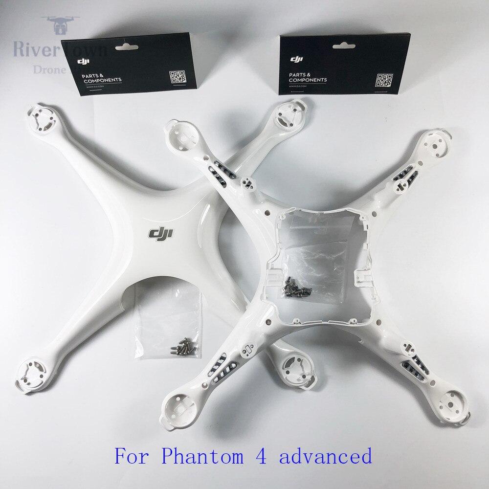 Original Brand New DJI Phantom 4 Adv Upper Middle Shell Top Bottom Body Cover P4A Phantom