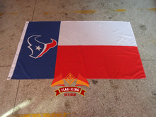 NFL flag,Houston Texans Rugby club flag, 90X150CM polyester flag king,Houston Texans  banner