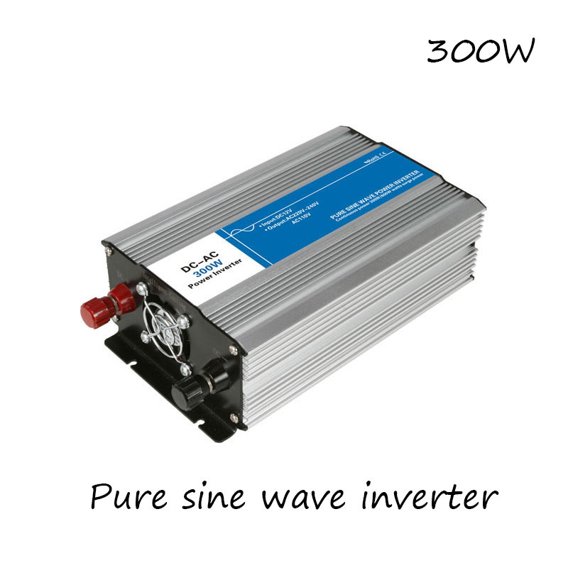Painstaking Dc-ac 300w Pure Sine Wave Inverter 12v To 220v Converters Voltage Off Grid Electric Power Supply Led Digital Display Usb China Sophisticated Technologies