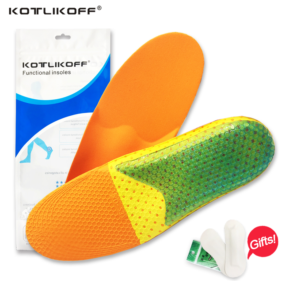 KOTLIKOFF Arch support pads insoles Inserts Heel Spur Orthotic Plantar Fasciitis Protector for Men Women Walking flat shoes expfoot orthotic arch support shoe pad orthopedic insoles pu insoles for shoes breathable foot pads massage sport insole 045