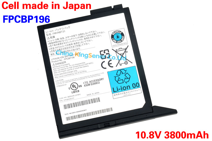 ФОТО New Media Bay Battery FPCBP196 For Fujisu Lifebook T901 T900 T5010 T731 T4410 E780 E8420 S710 S7220 S751 FMVNBT31 FPCBP196AP