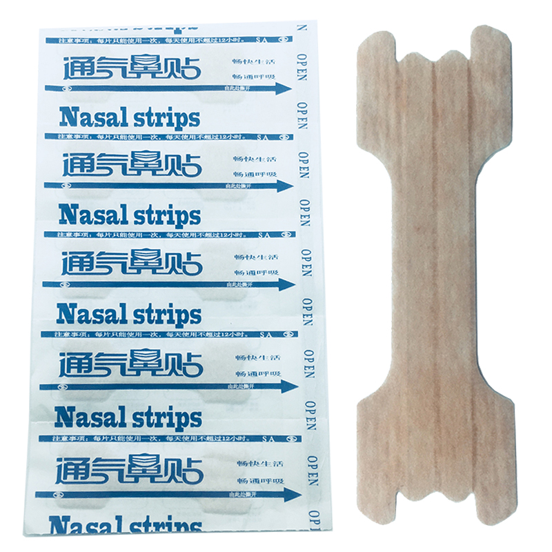 100Pcs/lot Nasal Strips Anti Snoring Patches Sleep Better Right Aid to Stop Snore Better B