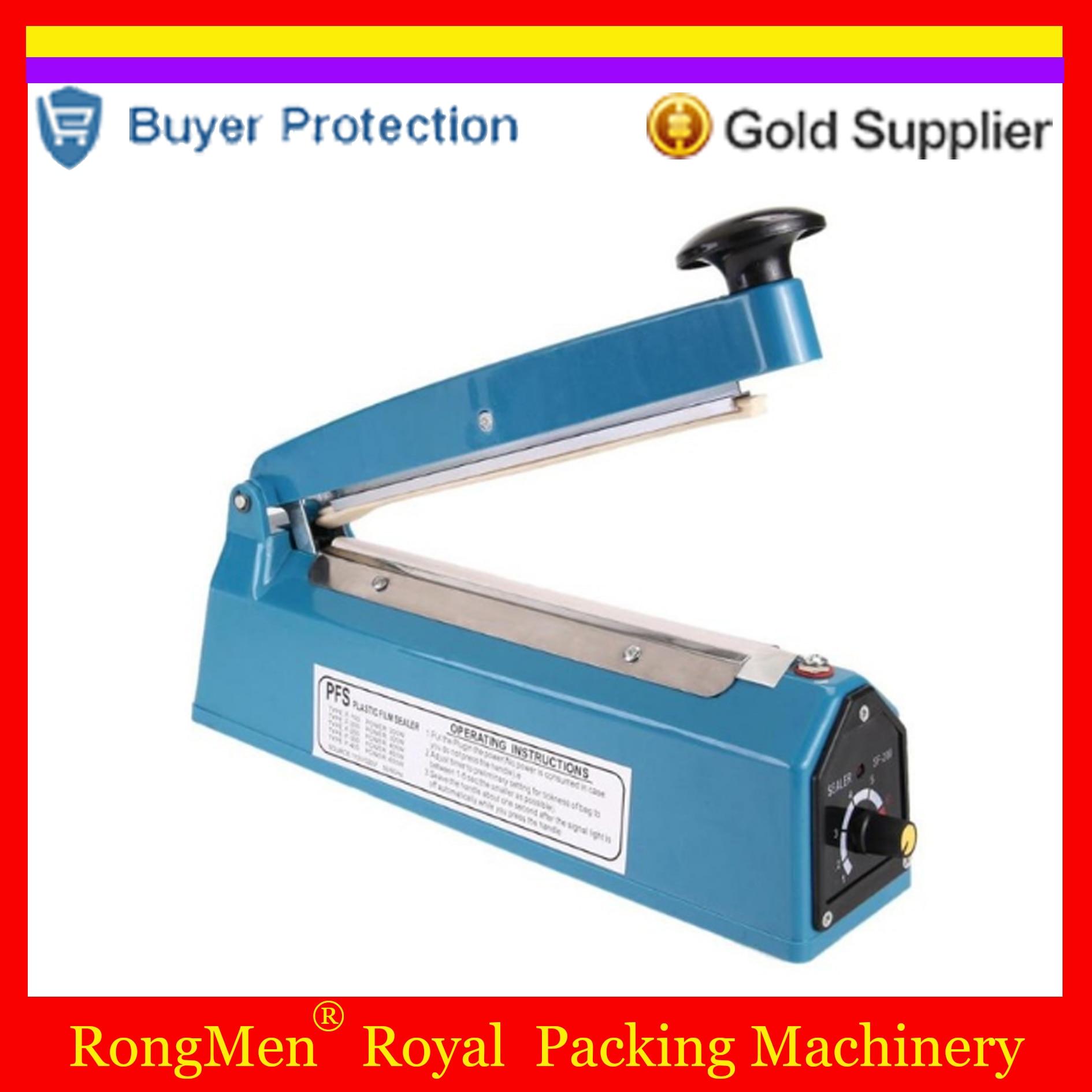 20mm plastic bag sealer film impulse sealer,manual impulse sealing machine,aluminum bag Impulse Heat Sealer Electric SF-200 Бутылка