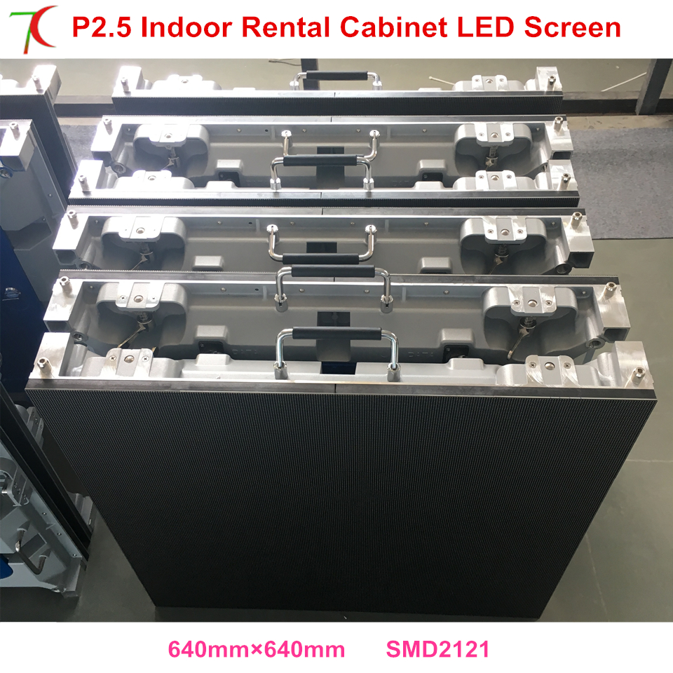 China Factory Sales SMD Indoor Full Color Rental Advertisement  Screen Cabinet  Wall Panel Led Video Display