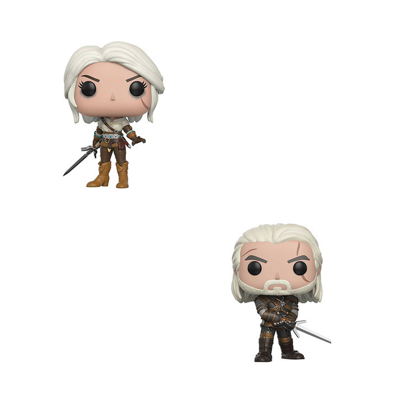 Funko Pop Games Witcher 3 Psp Game Periphery The Witcher Crazy Hunter Handmade Model Doll Jewelry Accessories