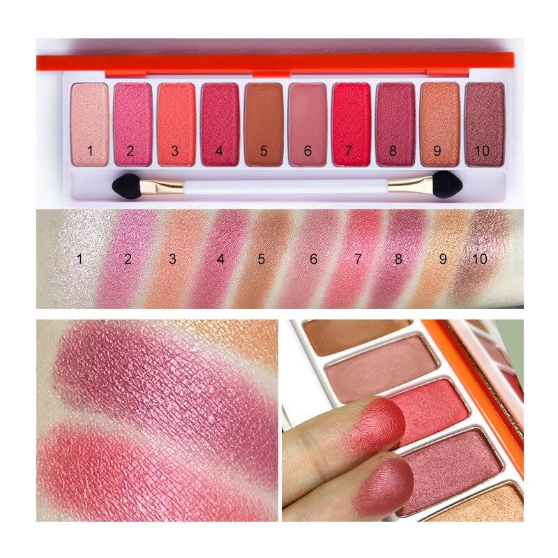 LIPHOP Fashion Naked eyeshadow palette 10 Colors Matte EyeShadow palette Glitter Nude eye shadow MakeUp set Korea Cosmetics для глаз victoria shu doll s style eyeshadow palette 50 цвет 50 variant hex name cead96