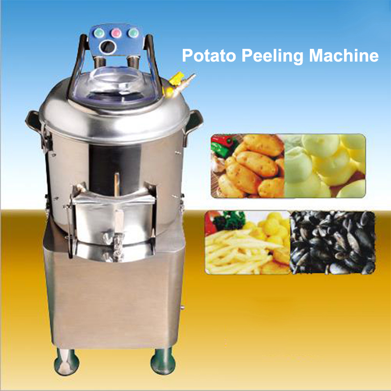Potato Peeling Machine Acacia Eectric Potato Peeler Commercial Scallop Cleaning Machine HLP-20