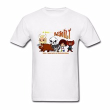 Designing Teenage A God Rebuilt Chibis Tee Shirts Plus Size 100% Cotton Custom Made T-Shirt Shirt Teenage Natural Cotton Tshirt