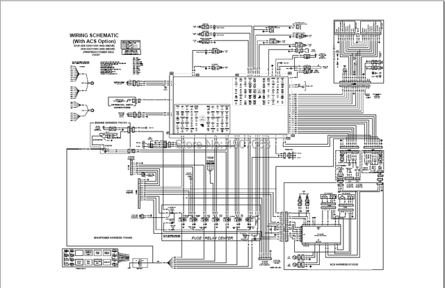 m610 bobcat wiring diagram diy wiring diagrams u2022 rh dancesalsa co Bobcat Skid Steer Electrical Diagrams Bobcat 873 Fuse Diagram