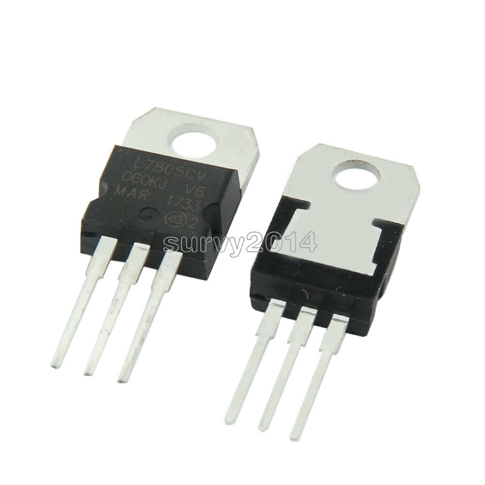 5pcs LM7805 L7805 7805 Voltage Regulator IC 5V 1.5A TO-220