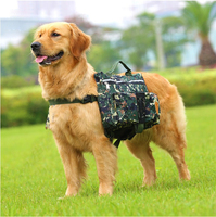 New Pet Large Dog Bag Carrier Backpack Saddle Bags Dog Travel Large Capacity Bag Carriers For