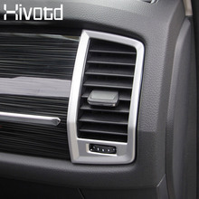 hivotd for skoda kodiaq accessories chrome air outlet circle cover decoration stickers frame interior mouldings car styling 2019 1 set car stying chrome for kia rio 4 k2 2017 2018 air outlet circle cover interior mouldings decoration frame