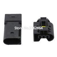 3 pin conector Auto Sensor ABS alambre eléctrico conector hembra y macho DJ7038-3.5-11/21 para Benz BMW Kostal 3 P