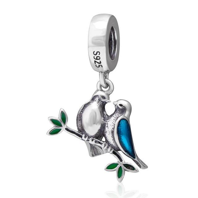 charms pandora oiseau