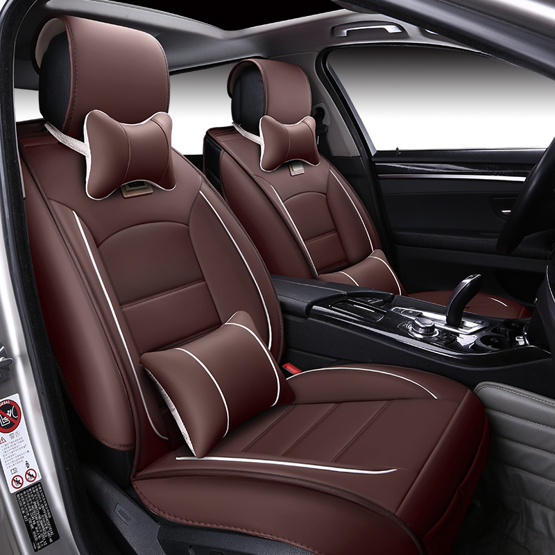 Special Leather Car Seat Covers For Porsche Cayenne Macan: Universal Leather Car Seat Covers For Toyota RAV4 PRADO