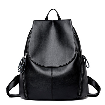 2019 New Fashion Women Leather Backpack High Quality Woman Backpacks Female Travel Shoulder Bag College Wind School Bag new college wind leisure backpack fashion ladies pu leather bags travel schoolbag drawstring backpacks