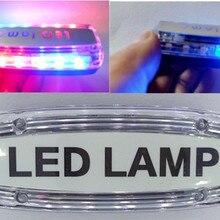 Наплечный Предупреждение световой сигнал напоминающий свет Красный Синий мерцающий сигнал светофора