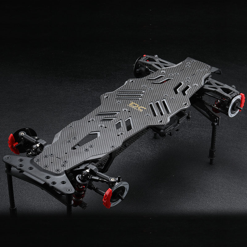 1Set MSTRMX 2 0 S Chassis Frame RRX Carbon Fiber Bottom Chassis Rack Hydraulic Radio Tray