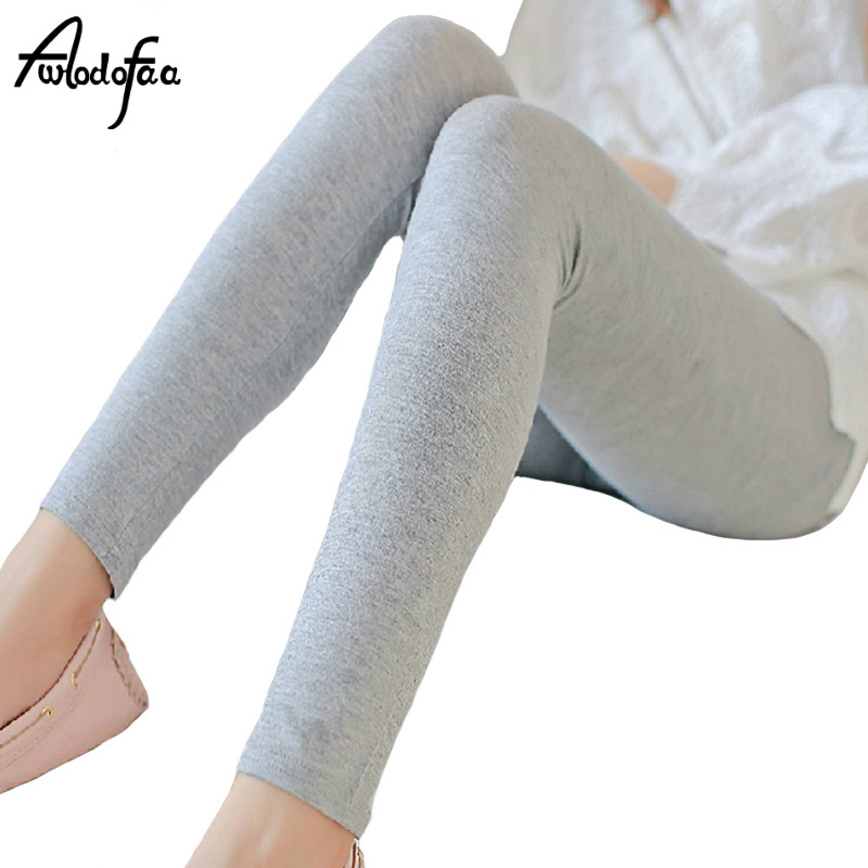 Cheap New Ms Fashion Sexy Brands Women's Big Underwearw Large Casual Cotton Solid Color Plus Size Thin Large Leggings Pants Fat