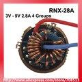 RNX-28A 3 V-9 V 2.8A 1 или 2 ячейки 4 группы от 2 до 5 режимов платы драйвера для Cree XM-L/XHP/MT-G2