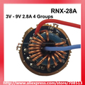 RNX 28A 3 V 9 V 2.8A 1 oder 2 zellen 4 Gruppen 2 zu 5 Mode Platine für Cree XM L/XHP/MT G2-in Tragbare Beleuchtung Zubehör aus Licht & Beleuchtung bei