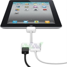 Hot selling  1080P Dock Connector to HDMI HD TV Adapter for iPad 2 3 for iPhone 4 4S for  iPod IOS 8.3