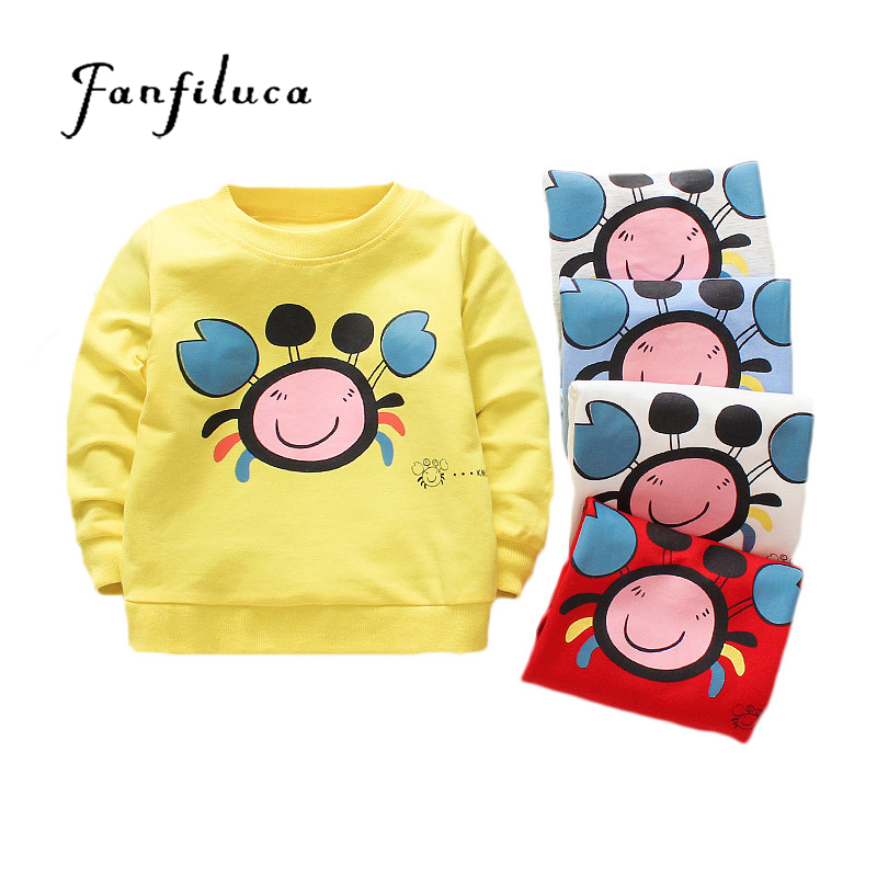 Fanfiluca Kids Long-Sleeve T-Shirt Things Boys Cotton Children's O-Neck for White