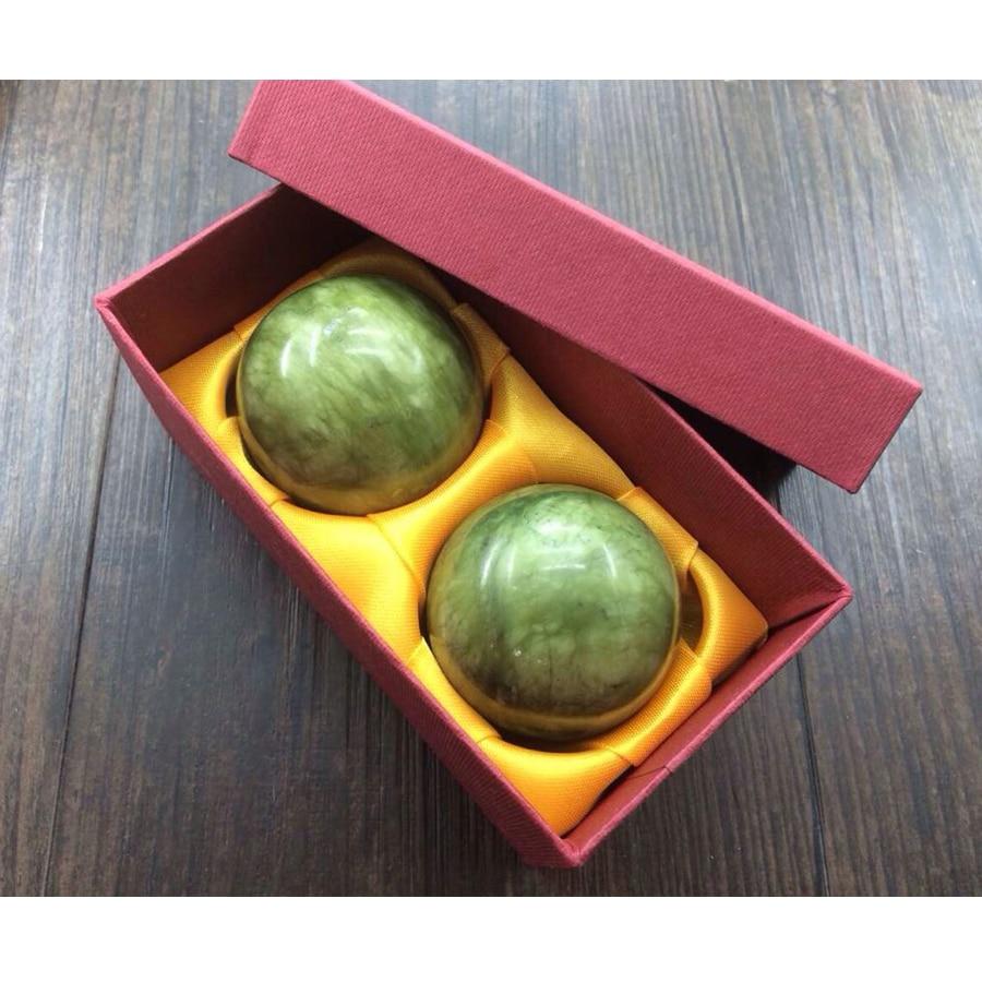 2 τεμάχια Φυσικό Jade Ball Foot Care Tool Μασάζ - Εργαλεία φροντίδας του δέρματος - Φωτογραφία 5