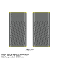 B31A 30000mAh Power Bank Portable Quick Charger Dual USB 5V2A Charger External Back Up Battery For