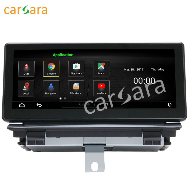 8.8 Android monitor for Audi Q3 2013 to 2018 touch screen GPS Navigation multimedia player