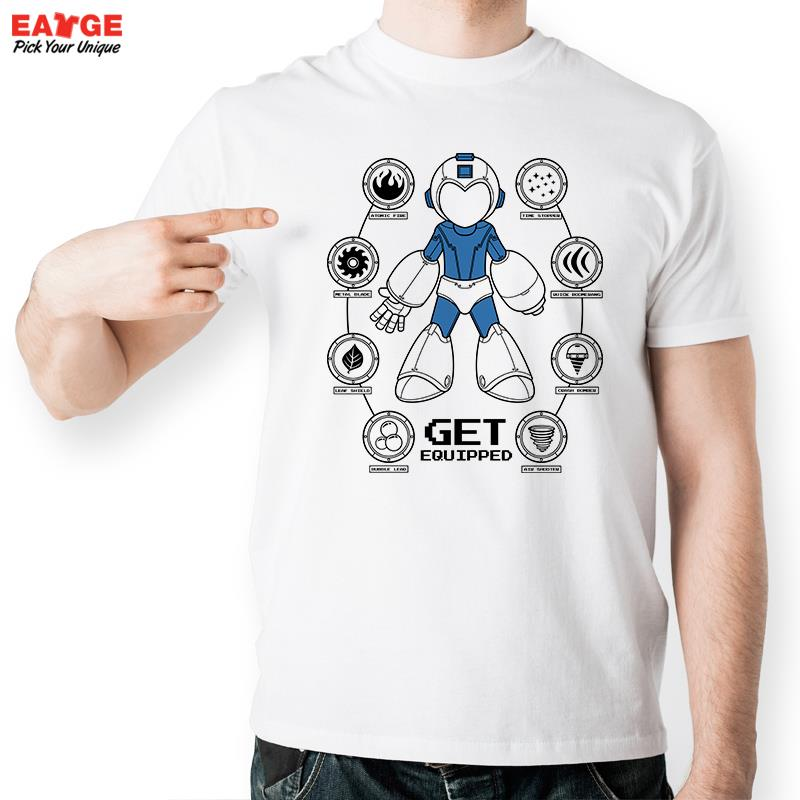Buy get your mega man equipped t shirt for Create t shirt store online