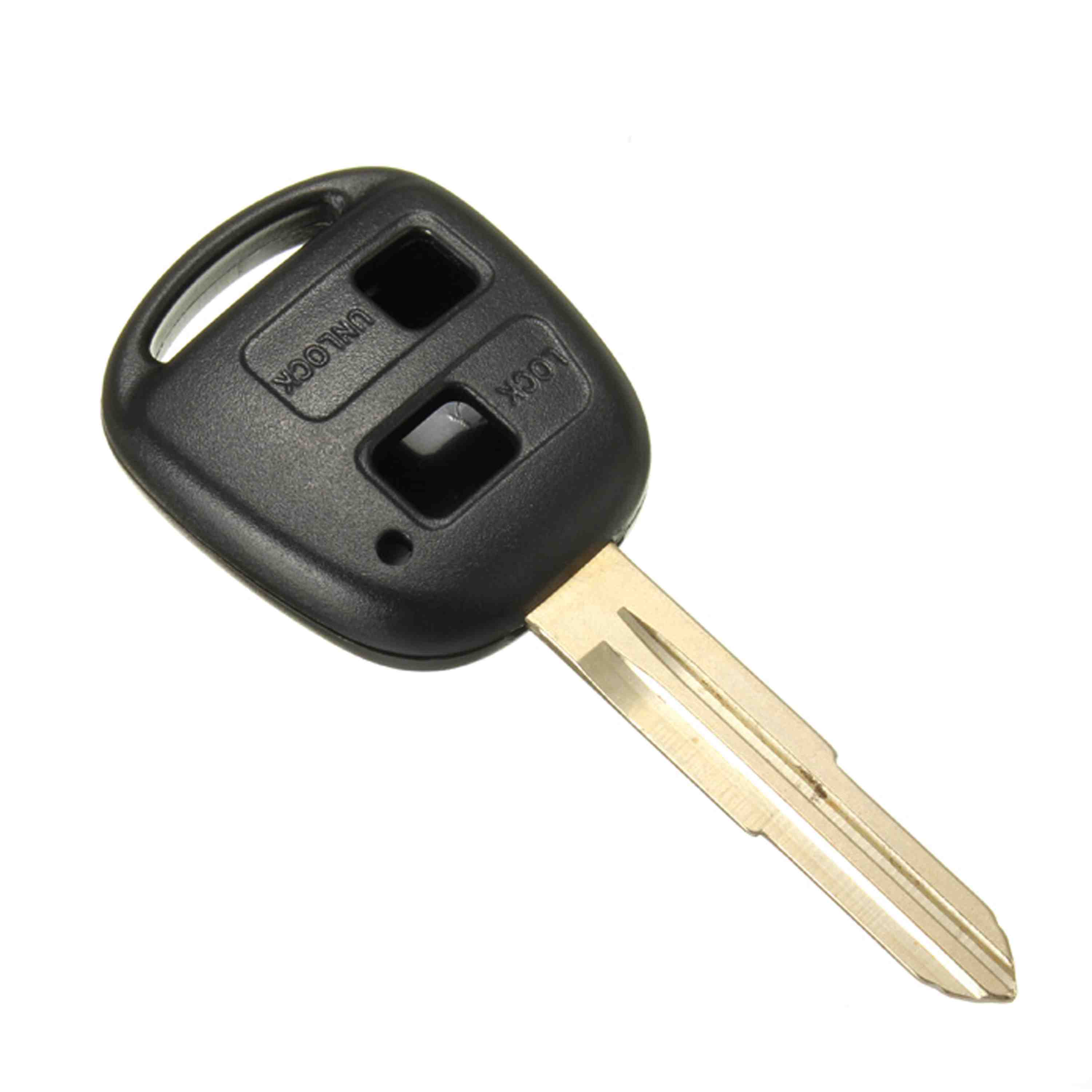 2 button remote key case shell uncut blade for toyota yaris corolla celica camry in key case for car from automobiles motorcycles on aliexpress com