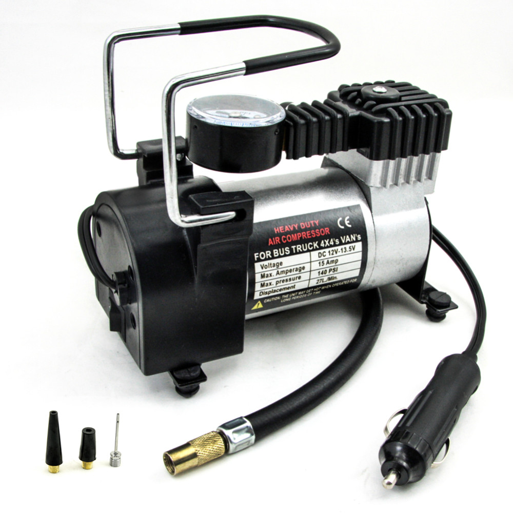 12v 150psi car tyre inflator pump air compressor cars suv for Can i use motor oil in my air compressor